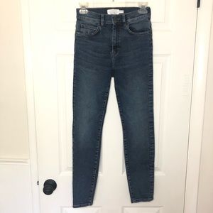 & Other Stories High Waisted Skinny Jeans Size 25
